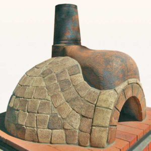 Bluestone Tiled Pizza Oven