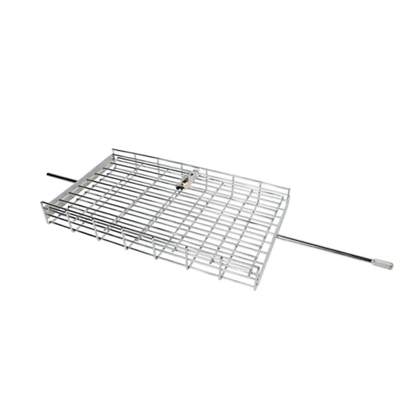 Flat Basket Rotisserie Grill