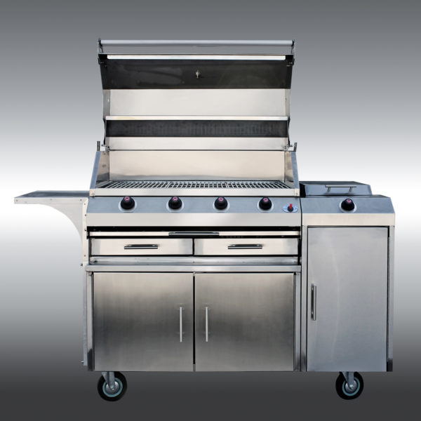 Chef Zodiac Braai 4-burner