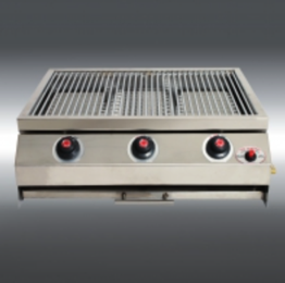 Chef Nitro Built-in Braai 3-burner