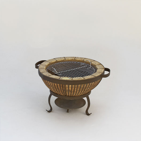 Boma Fire-Pit – 610 – Striped Finish
